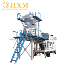 High Performance ready mix mobile concrete batching plant price with cement silo