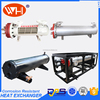 WH REFRIGERATION FACTORY A Shell And Tube Type Sea Water Titanium Evaporator Condenser Corrosion Resistant Heat Exchanger Price