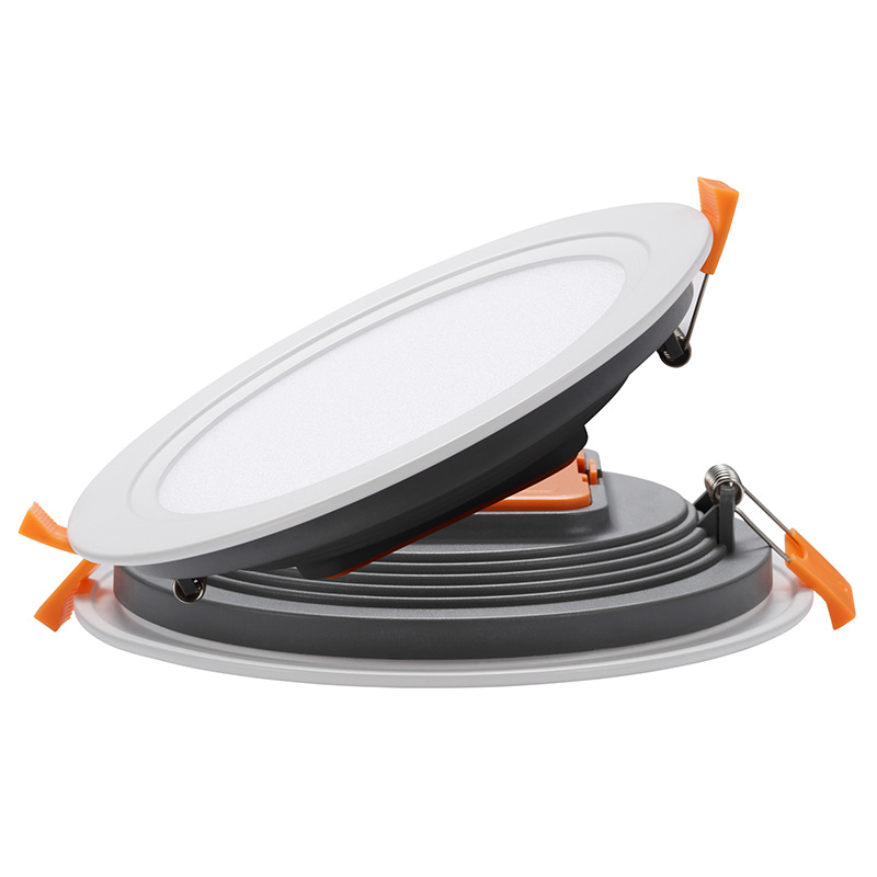 OEM ODM super thin 12 watt embedded lamp PC aluminum integrated panel light 12w round recessed led <strong>downlight</strong>