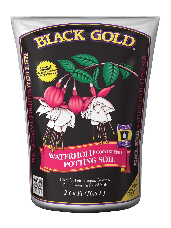 Black Gold Waterhold Cocoblend Potting Soil Bag 8 Qt