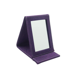 Hot selling square folding Desktop makeup mirror