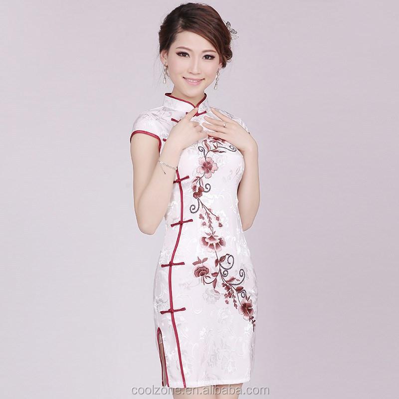 2015 Mode Stickerei Traditionelle Chinesische Kleidung