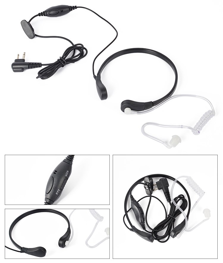 New Model Noise Cancelling Waterproof Two Way Radio Headset With
