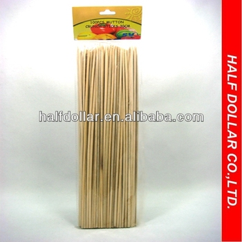 100pcs of 30cm Mutton Crunch BBQ Sticks/Skewers For One Dollar Item