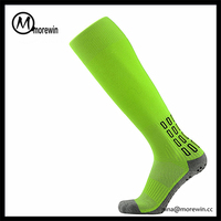 Morewin Socks Wholesale Knee High Running Sport Compression Socks / Custom Soccer Socks