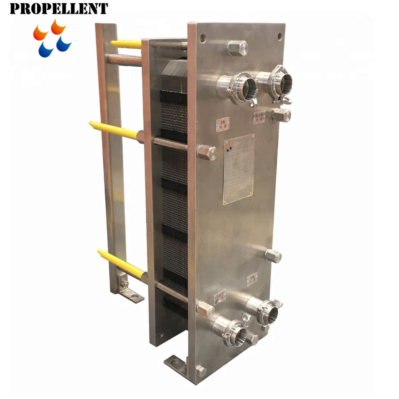 1000L milk pasteurizer plate heat exchanger for milk beer yogurt juice pasteurizer cooling heating