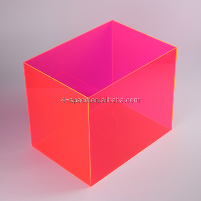 Clear Acrylic Square Cube Candy Box Boxes 2X2X2 Inches Set of 24