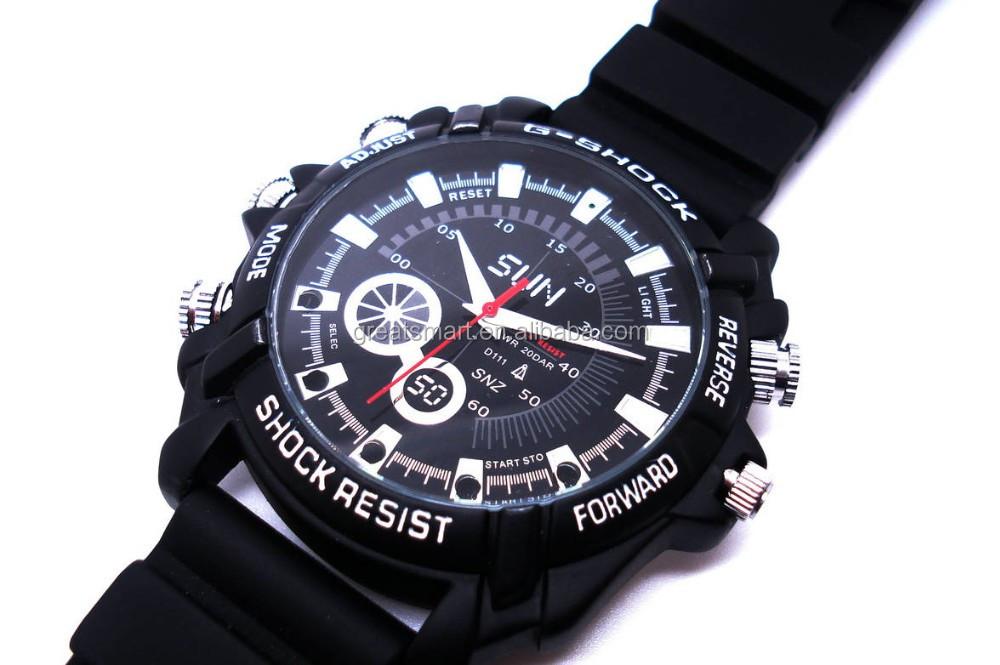 Top Cctv Camera,1080p Waterproof Spy Watch Camera,,Hand Wrist ...