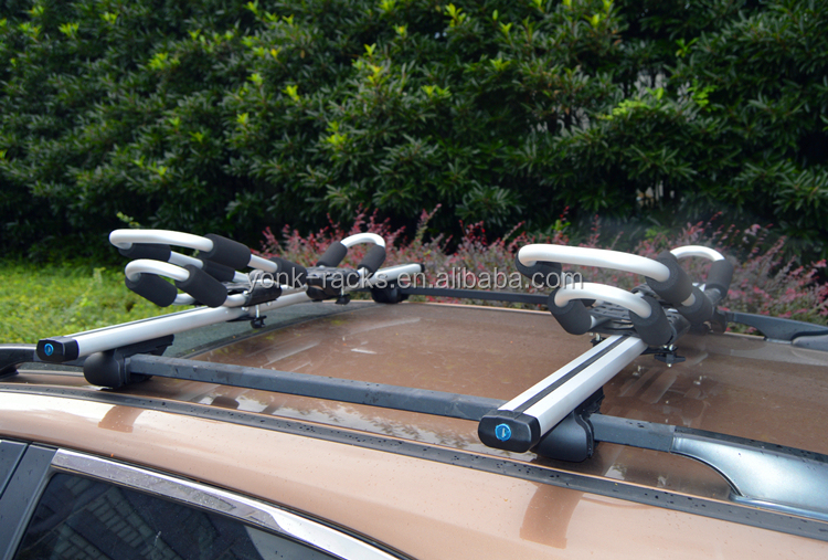Aluminum Folding Double Twin 2 Kayak Canoe Carrier Roof