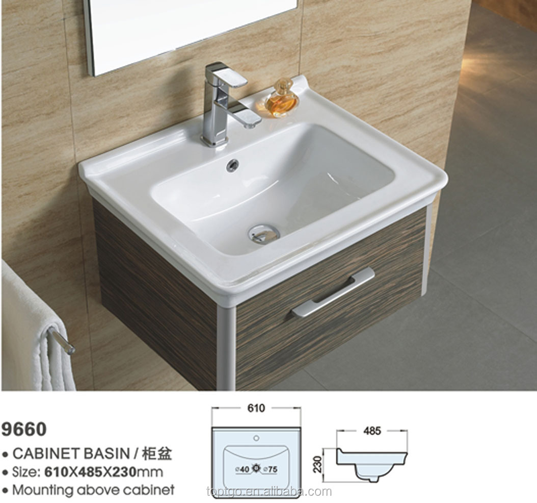Kohler Ceramic Basin Washbasin Cabinet Design Mounting Above 9660