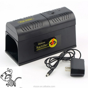 X-pest VS-3199 Powerful Electronic Rat Killer for Indoor Pest Control with DC Adapter, Safe and Sanitary