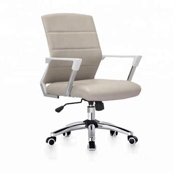 True Seating Swivel Executive Leather Chair Office With Footrest
