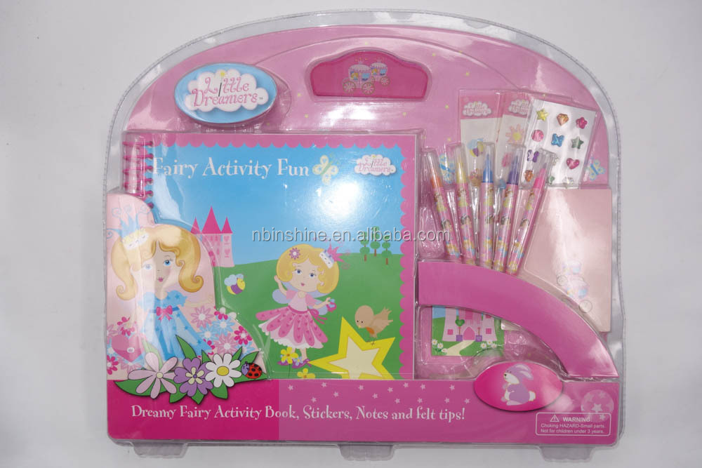 IN41512 Custom kids coloring set , drawing set