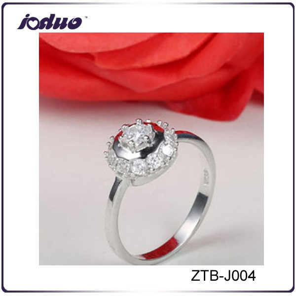 European top sell style zircon latest ring design