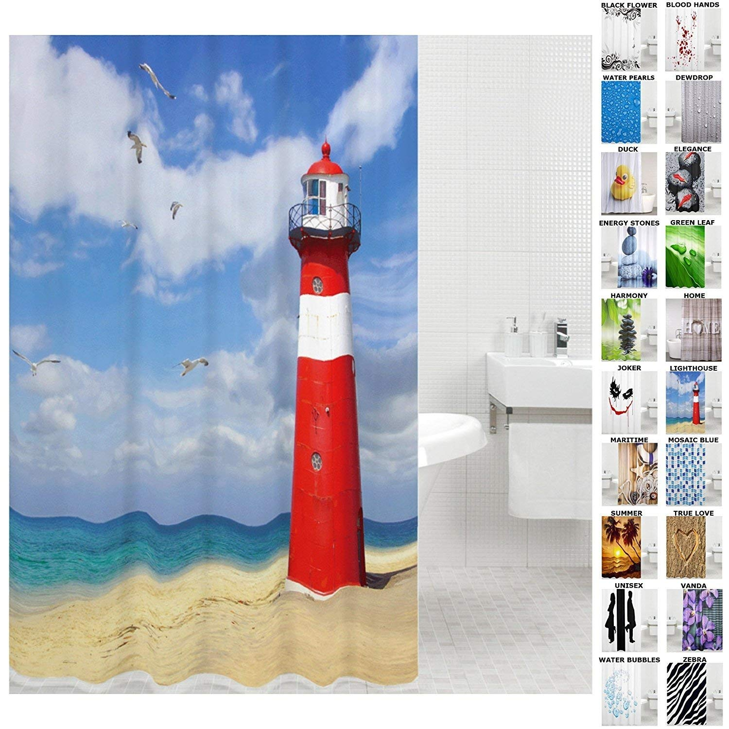 Cheap Lighthouse Shower Curtain Find Lighthouse Shower