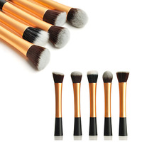 Fancy color cosmetic makeup brush 5pcs soft makeup brush set
