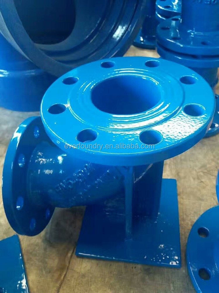 Ductile iron Double flanged duckfoot bend 90degree