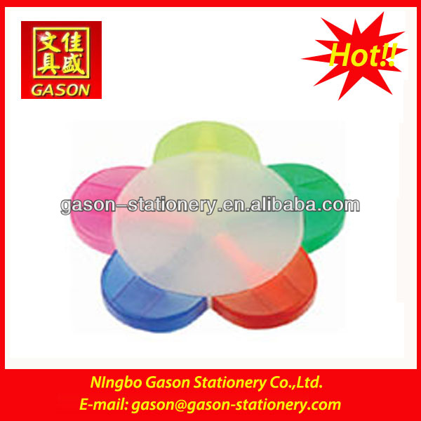 2012 flower shape promotional 5 color highlighter