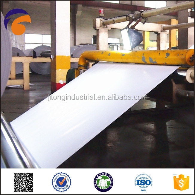 2015JITONG coated white duplex board manufacturer in indonesia grey back mills/paper mill in China