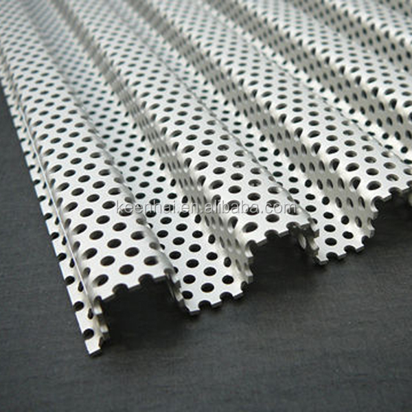Color Coated Stainless Steel Perforated Corrugated Metal