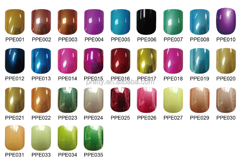 Beautiful Designed Pearl Color Nail Art Products Artificial Nails ...