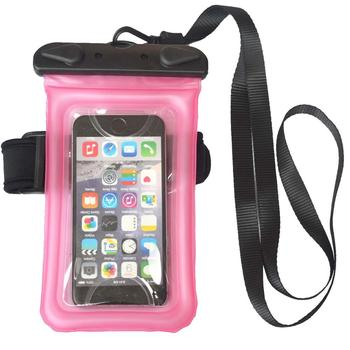 Floating Waterproof Case Universal Dry Bag with Armband Neck Strap for iPhone