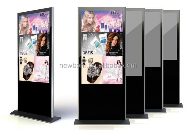 "Best cheap!!46"" floor standing ad player android quad core display"