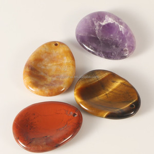 Wholesale Bespoke polished chakra worry stone for sale
