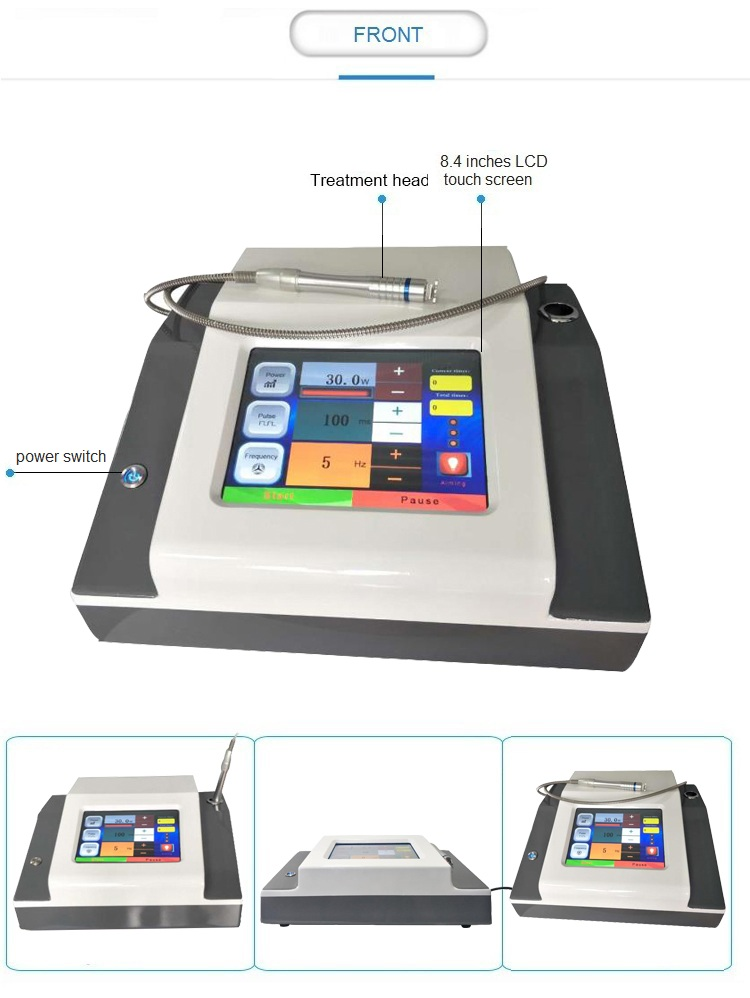 Professional 980nm diode laser spider vein therapy