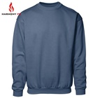 Wholesale Knitted Fleece FR Pullover Sweatshirt Flame Retardant Clothing For Protective Workwear