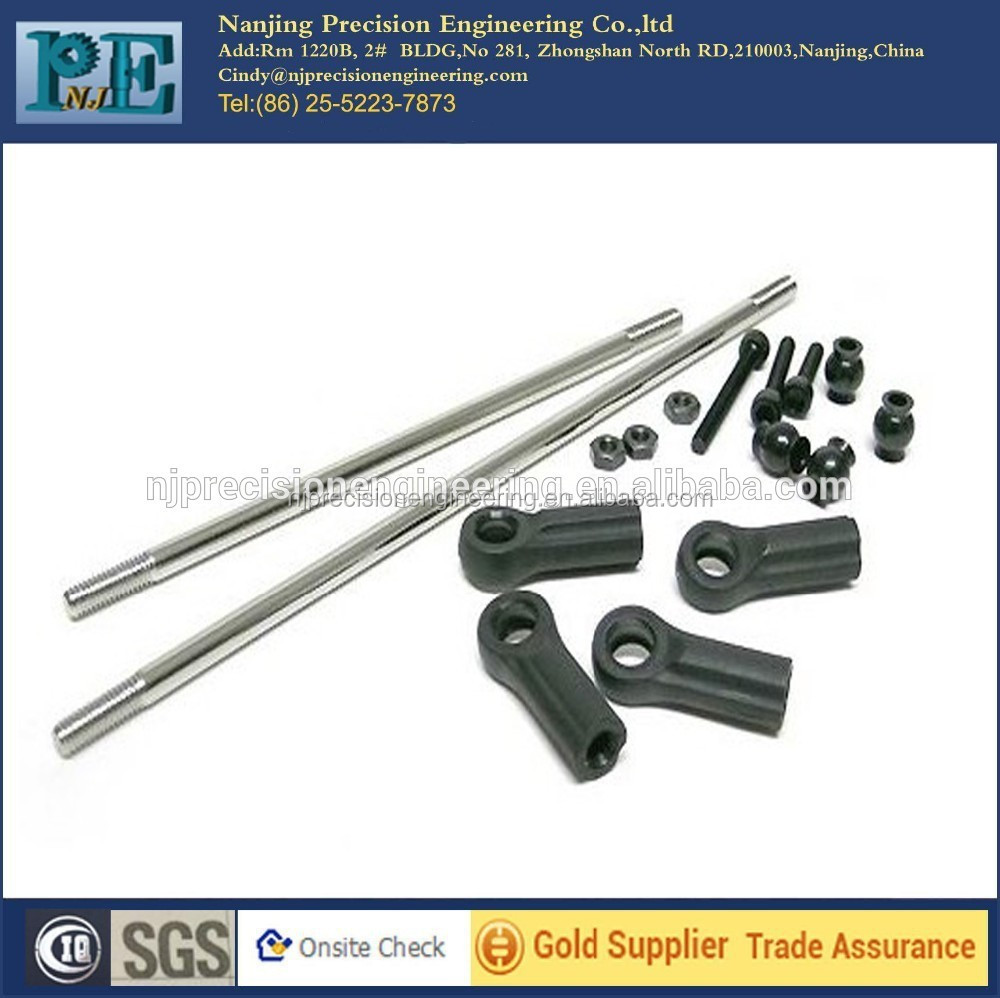 Customized CNC machining steel alloy <strong>hardware</strong> fittings