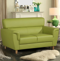 Latest sofa design hotel furniture PVC leisure sofa chair for living room