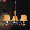 Europe style E14 wooden color lamp industrial vintage chandelier