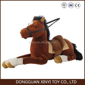 Giant Size Plush Stuffed Horse Toy