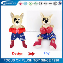 Manufacture promotional animal toy custom stuffed plush toy