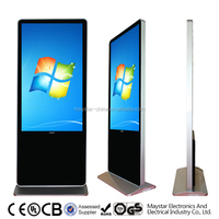 42 inch wifi floor standing vertical lcd tv for advertising