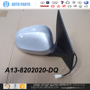A13-8202020-DQ Mirror R Chery Fullwin 1.5 AUTO Parts CHERY SPARE Parts CAR Guangzhou supplier ORIGINAL AUTO PARTS