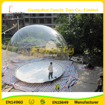Outdoor Clear Dome Show Room Easily Installed For Camping