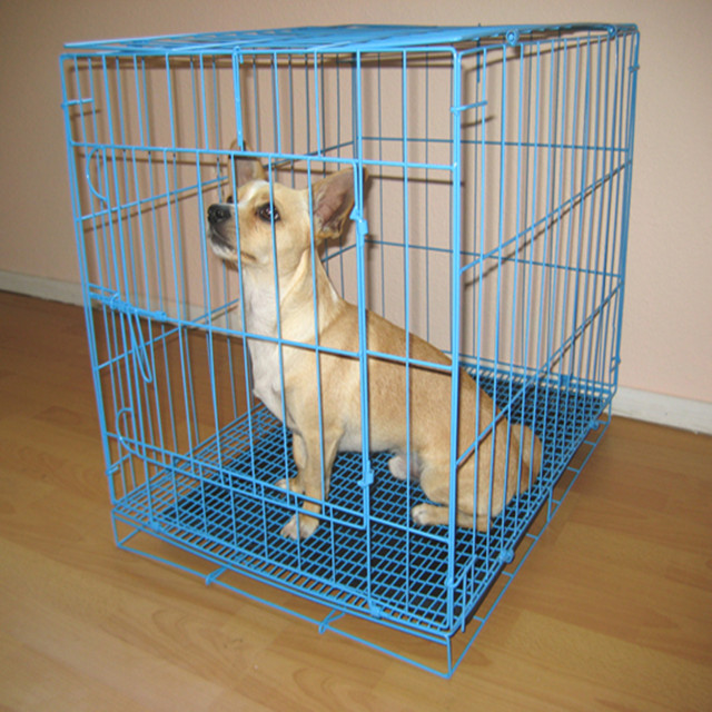 Used welded wire small dog cages for hot sale