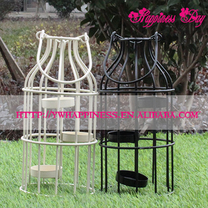 Birdcage Iron Candlestick Decorative Tealight Candle Holders Modern Home Decoration Wedding Lantern Ornaments Gifts