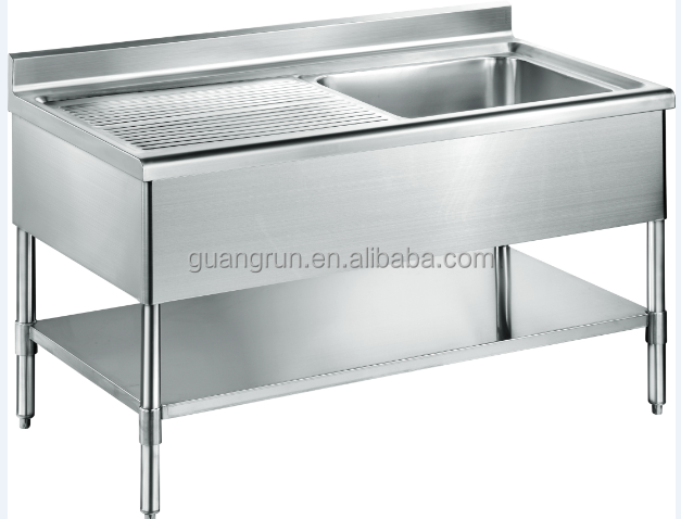 Lavello cucina usato : Ristorante usato ciotole doppio libero in piedi