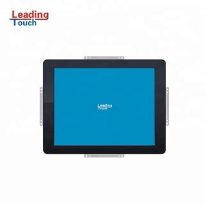 Customized metal LCD open frame 17 inch led touch screen open frame