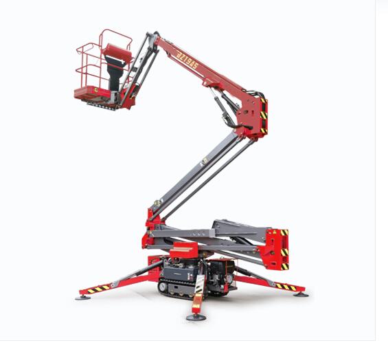Portable Pneumatic Lift Arms : Towable boom lift for sale arm ift platform single