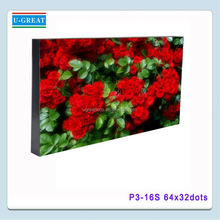 LED stage Display wholesale price full tube chip color led moving sign