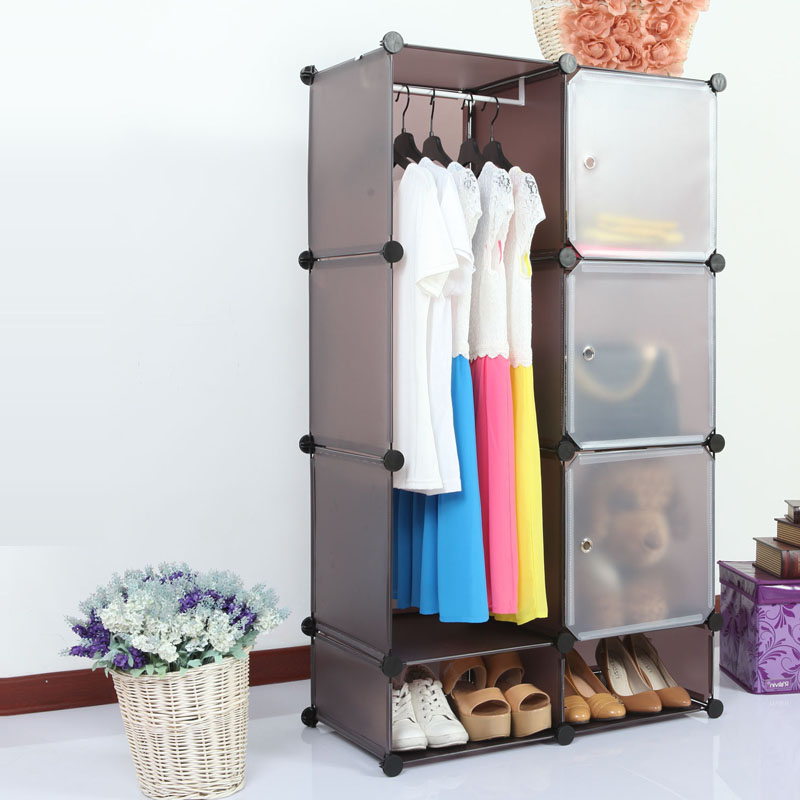 Portable Creative Environmental Diy Closet Organizer Ideas Paint Storage Cabinetfor Kids FH AL0523 3