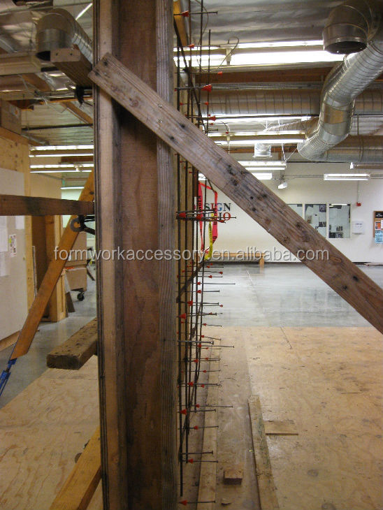 Concrete Formwork Plywood Form Snap Tie Wedge Strip Tie