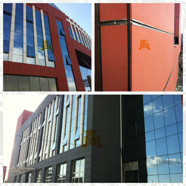 High Quality High Strength Colored Cement Board Exterior Wall Cladding