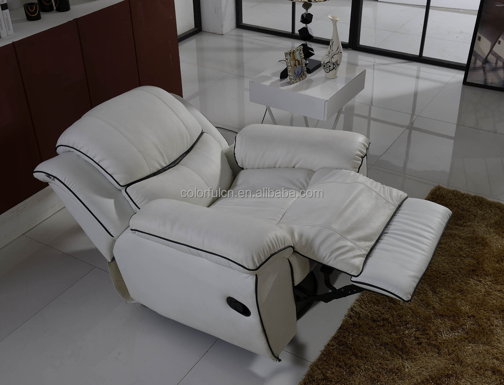 Lazy Boy Leather Recliner Sofa For Living Room,Hotel,Salon Beauty