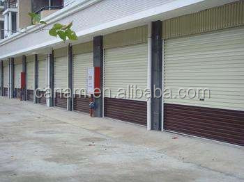 Rolling security store shutters commercial