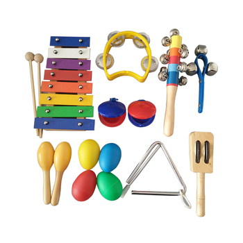 Gift For Children Toys percussion instrument  Hot Sale Xylophone Orff Baby Percussion Instrument Set Kids Educational Toys